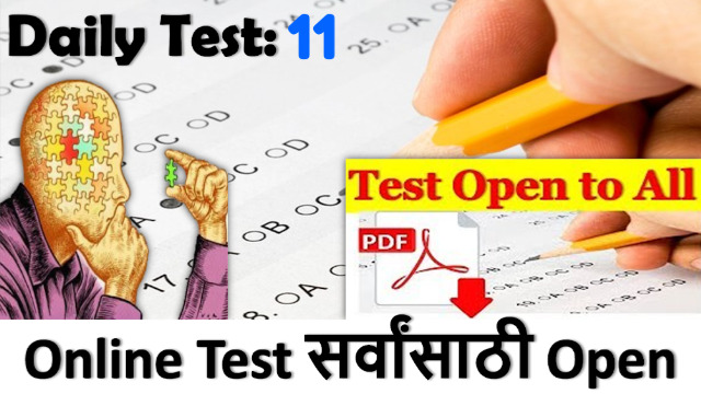 Daily Test: 11