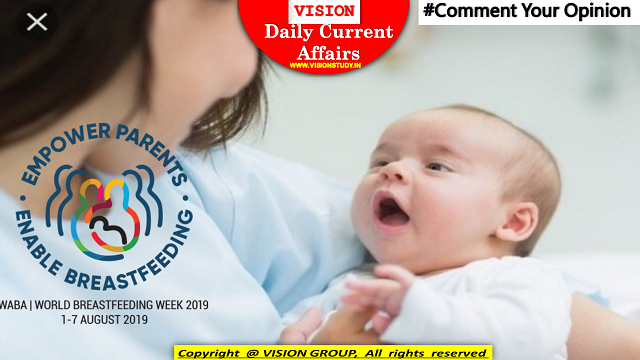 1 August 2019  Current Affairs