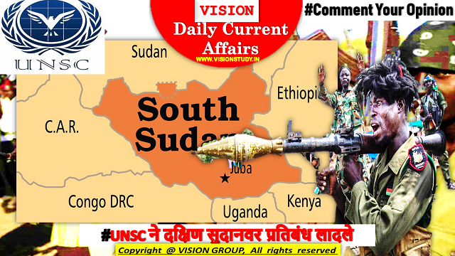 #UNSC imposes sanctions on South Sudan